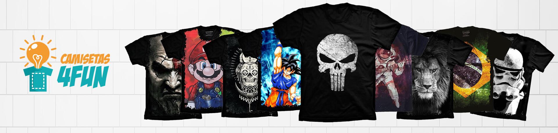 Camisetas 4FUN