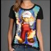 Camiseta Super Mario Game