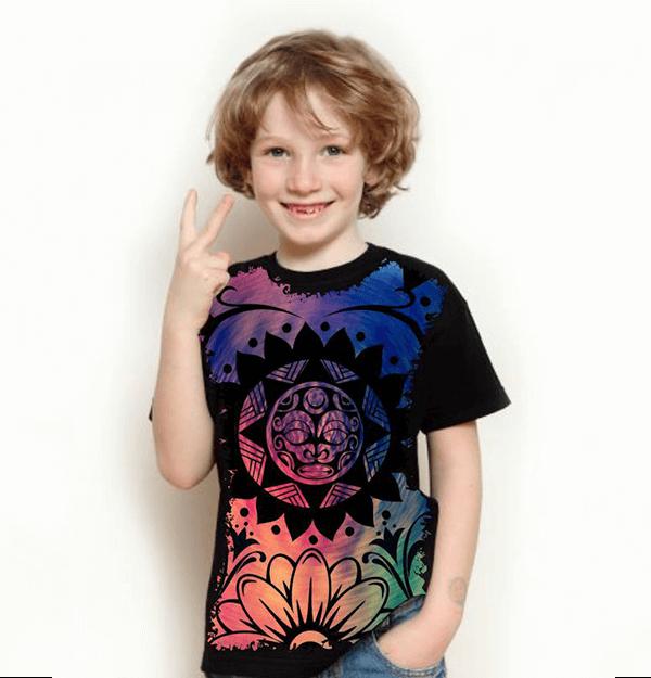 Camiseta Mandala Tribo