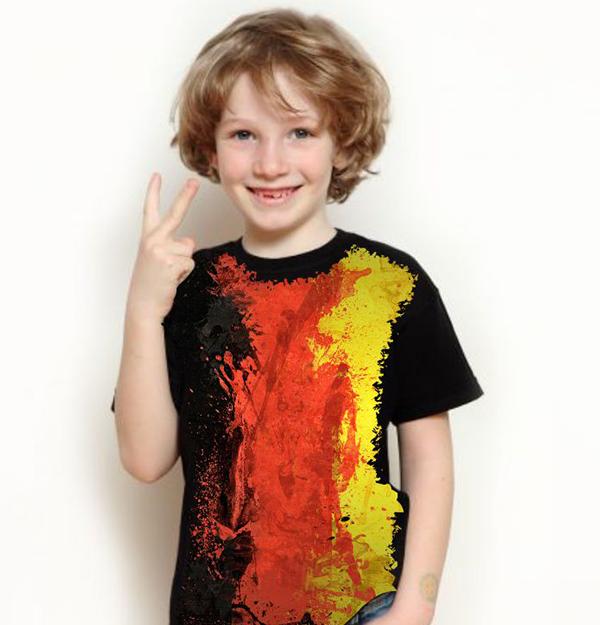 99343675b4c6b Camiseta Bandeira Da Alemanha
