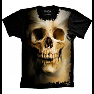 Camiseta Skull Caveira Human