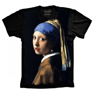Moça com o brinco de pérola Johannes Vermeer