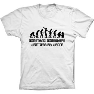 Camiseta Evolução Da Humanidade Computadores