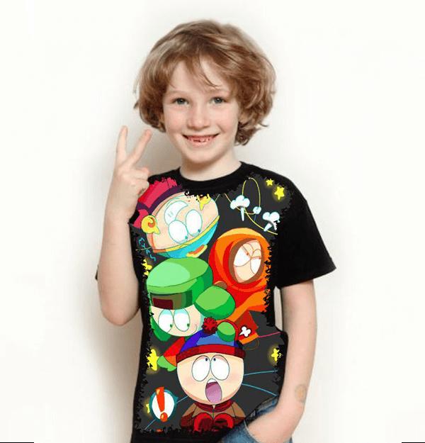 Camiseta South Park Turma
