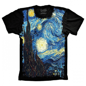 A Noite Estrelada Vincent Van Gogh
