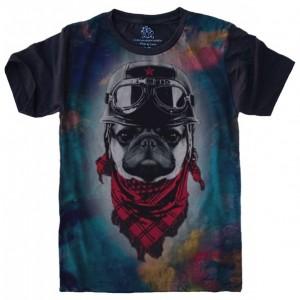 Camiseta Pug Aviador