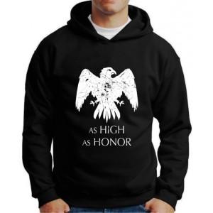 Moletom Game Of Thrones As High As Honor