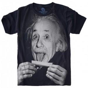 Camiseta Einstein Lingua