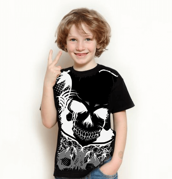 Camiseta Skull Terror