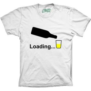 Camiseta Loading Bebida