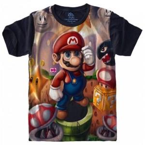 Camiseta Super Mario