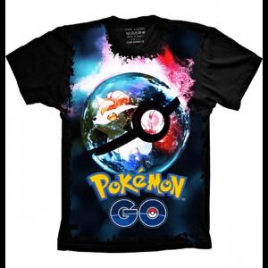 Camiseta Pokemon Tamanho Feminino M [Última Peça - Liquidação]