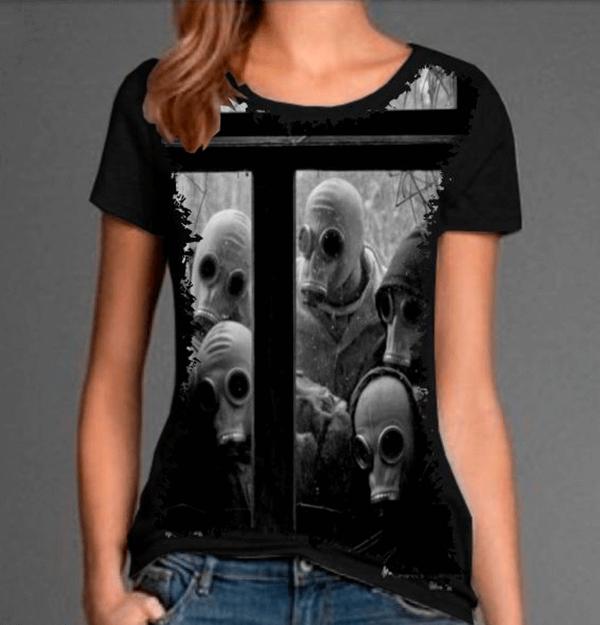 Camiseta Crazy Scary