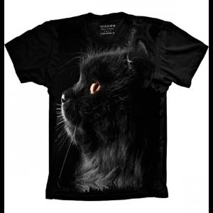 Camiseta Gato Preto