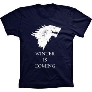 Camiseta Game Of Thrones Casa Stark Winter Is Coming