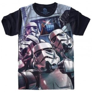 Camiseta Star Wars Storm Trooper Selfie