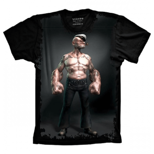 Camiseta Popeye Maromba