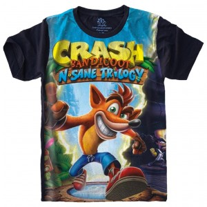 Camiseta Crash Bandicoot Playstation
