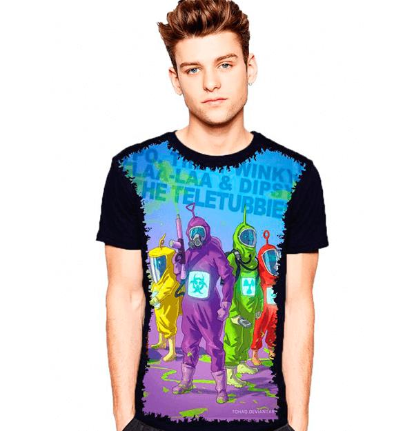 Camiseta Teletubbies