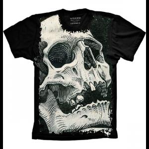 Camiseta Skull Caveira Vintage