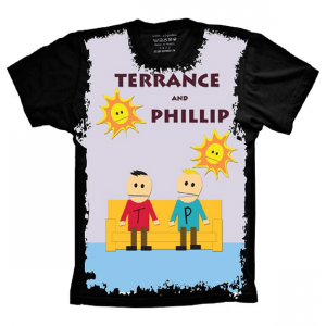 Camiseta South Park Terrance and Phillip