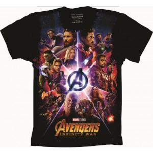 Camiseta Vingadores Avengers Guerra Infinita
