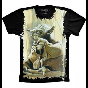 Camiseta Star Wars Yoda Jedi