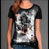 Camiseta Skull Caveira Baralho