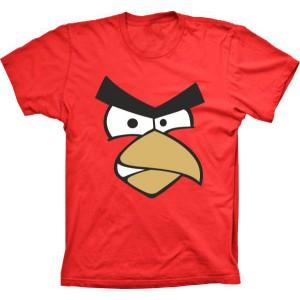 Camiseta Angry Birds Vermelho