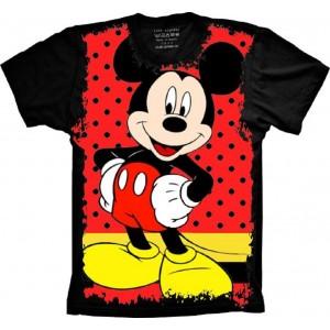 Camiseta Mickey Mouse Tamanho Infantil 10 [Última Peça - Liquidação]