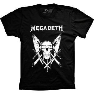 Camiseta Megadeth Tamanho Infantil 12 [Última Peça - Liquidação]