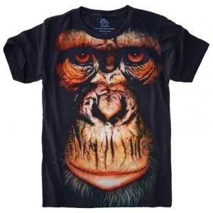Camiseta Macaco Face Monkey