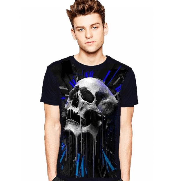 Camiseta Skull Time