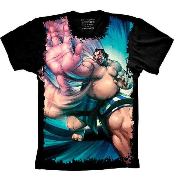Camiseta Street Fighter E. Honda