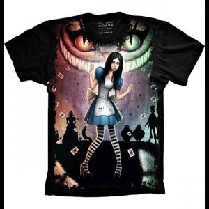 Camiseta Alice no Pais das Maravilha