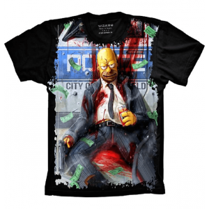 Camiseta Homer Simpson Drink