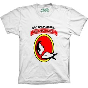 Camiseta Não Bastar Beber