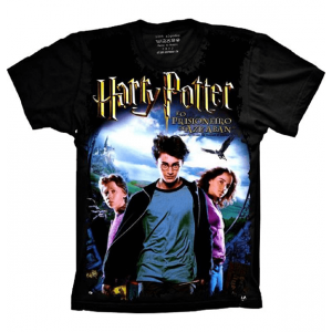 Camiseta Harry Potter E o Prisioneiro de Azkaban