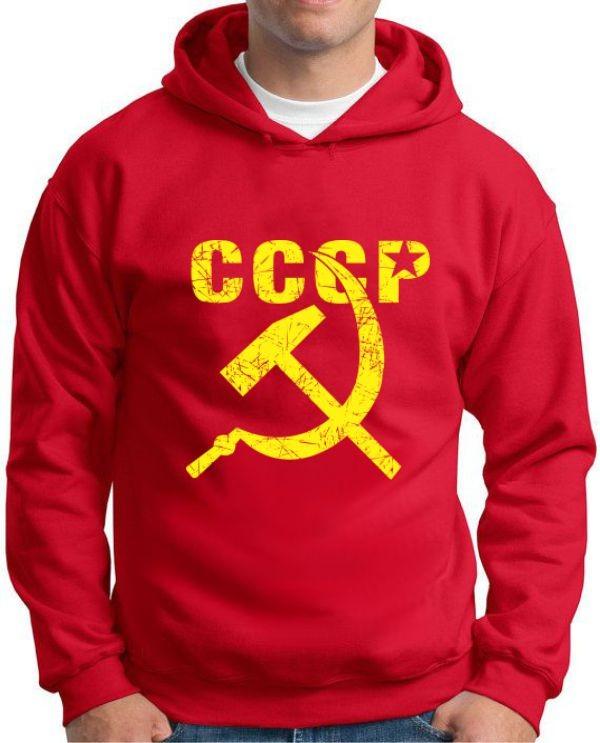 Moletom CCCP
