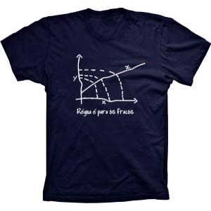 Camiseta Régua É Para Os Fracos