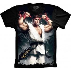 Camiseta Street Fighter Tamanho 8 Infantil [Última Peça - Liquidação]