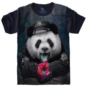 Camiseta Panda Policial