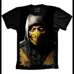 Camiseta Mortal Kombat Scorpion