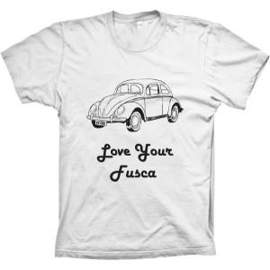 Camiseta Love Your Fusca
