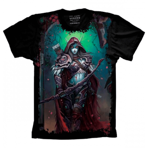 Camiseta World of Warcraft Sylvanas