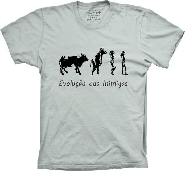 d9719794aa615 Camiseta Evolução Das Inimigas