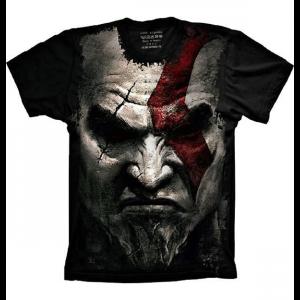 Camiseta God Of War Kratos Face