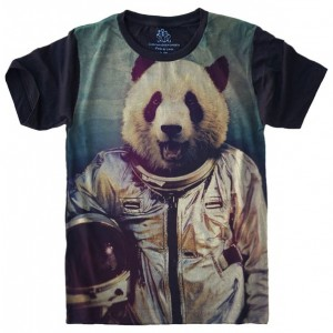 Camiseta Panda Astronauta