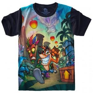 Camiseta Crash Bandicoot Playstation