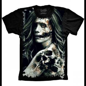 Camiseta Mulher Zumbi